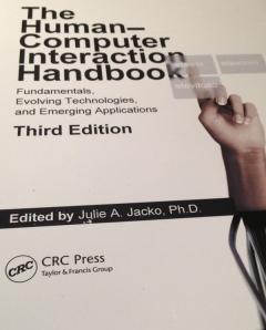 This HCI handbook went to a lucky winner at the end of the event (via Alex Proaps)